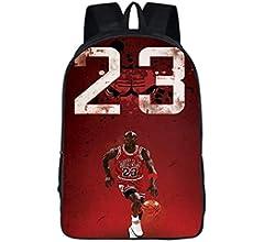 ULIIM Mochila De Baloncesto De Moda Jordan # 23 para Niños ...