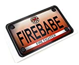 The Toy Restore Custom License Number Plate Decal Sticker Fits Little Tikes Cozy Coupe Car Firetruck