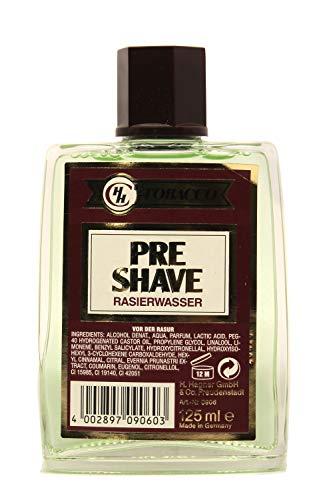 CHH TOBACCO Eau Pre Shave Rasage 125 ml