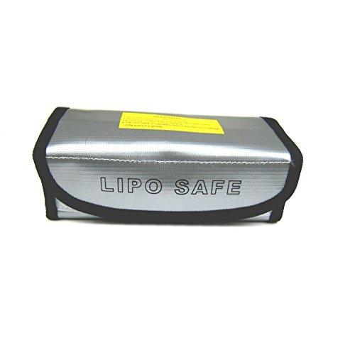 LiPo Safe 60x75x185mm Lipo Bag sac de charge