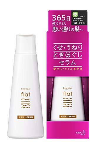flat(フラット)エッセンシャルフラットセラムくせ毛うねり髪ときほぐし毛先まとまるストレートヘア洗い流さないトリートメントときほぐし成分配合(整髪成分)120mlホワイトフローラルの香り120ミリリットル(x1)