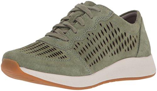 Dansko Women's Charlie Sneaker, sage Suede, 36 M EU (5.5-6 US)