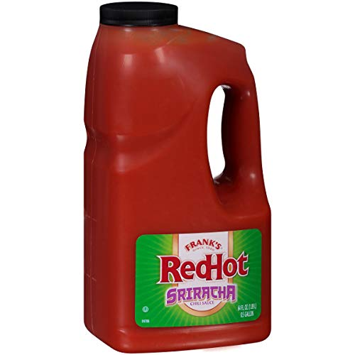 Frank's RedHot Sweet Chili Sauce, 0.5 Gallon - One Half Gallon Bulk Container of Sweet Chili Hot Sauce for Wings, Pizza, Sandwiches, Stir Fry, and More