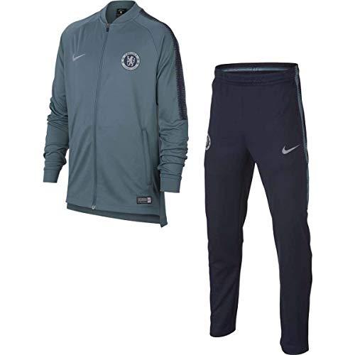 Nike CFC Y NK Dry SQD TRK Suit K trainingspak, uniseks, voor kinderen