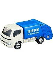 トミカ No.045 トヨタ ダイナ 清掃車 (ブリスター)