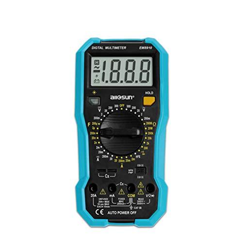 W-Y-B8 Frequenz-Universal-Tisch-Multimeter, intelligente Multimeter Digitale Hochpräzisions-Multifunktions-Anti-Burning-Home-Reparatur-Digital-Display-Kondensator