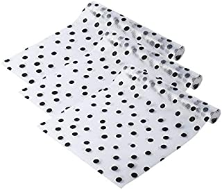Refrigerator Liner Non-Adhesive EVA Cabinet-Drawer-Shelf-Liners Waterproof Kitchen Fridge Pad and Cupboard Mat, Non-Slip Can be Cut Placemats, 17.7×47.2