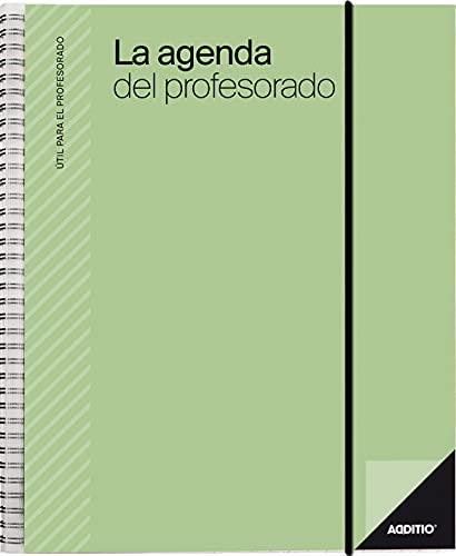 Additio P212 Agenda del profesorado Agenda + Evaluación + Anotaciones Verde
