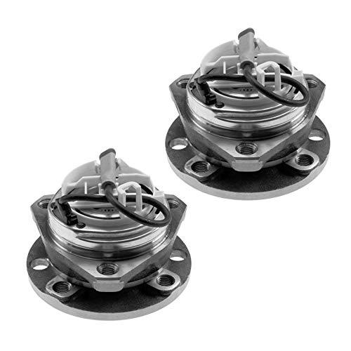 Preisvergleich Produktbild 2x Radlagersatz mit integriertem ABS-Sensor Vorderachse beidseitig 4-Loch Felge