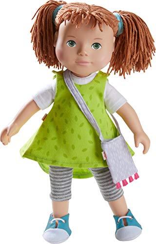 HABA 305585 - Spielpuppe Milou, HABA-Puppe mit weichem Körper, Gliedmaßen und Kopf aus Vinyl, 32 cm, Spielzeug ab 3 Jahren