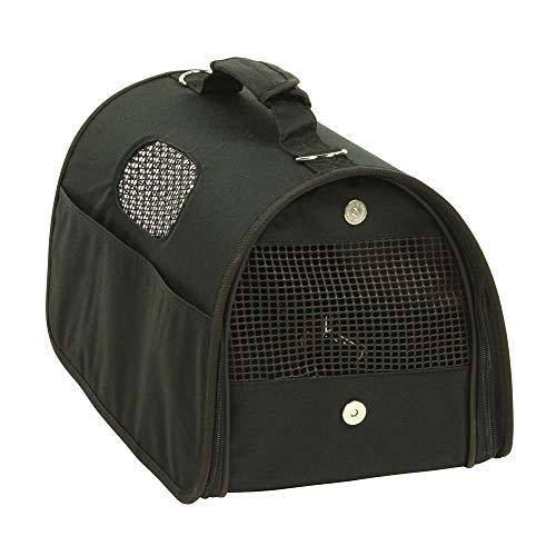 La Compagnie des Pet Foods - Sac de transport Urban Noir 42 cm - Pour Chat et petit Chien