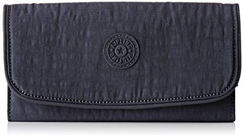 Kipling Damen Money Land Geldbörse, Grau (Night Grey), 18.5x10x3 cm