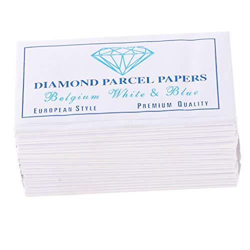 25 Stücke Papier Diamant Paket Papiere Für Gemologist Juweliere Edelstein Opal Lagerung
