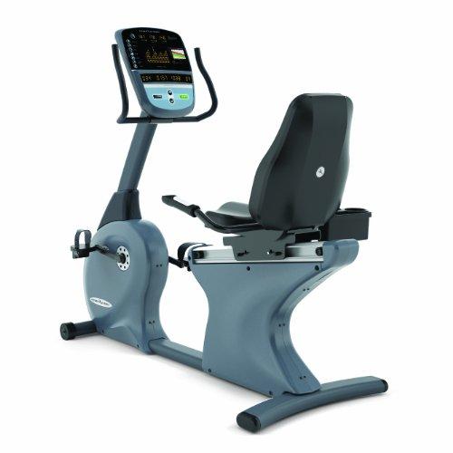 Vision Fitness Halbliege Ergometer R70, Anthrazit/Schwarz