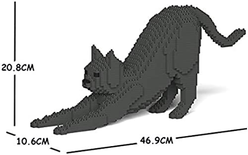 almacén al por mayor JECKA Animal Building Blocks for Kidults Cat Cat Cat 09S-M03  bajo precio