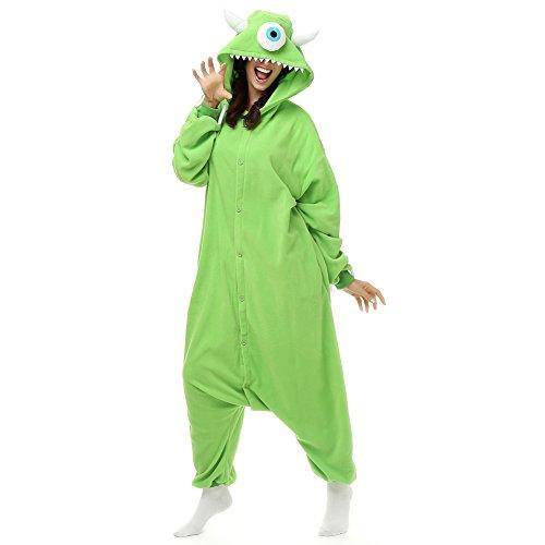 Imprinte. Cosplay Damen Strampelanzug grün grün M (Höhe 5'2-5'6)
