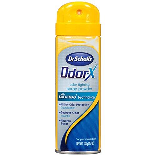 Dr. Scholl's Odorx Odor Fighting Spray Powder, 4.7 Ounce