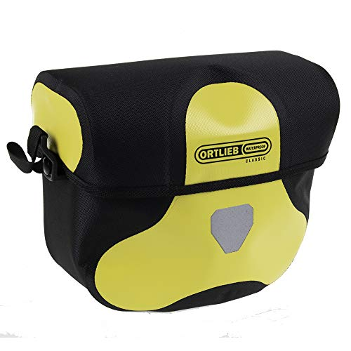 Ortlieb Bolsa de manillar Ultimate 6Classic–M 2017, F3113, amarillo y negro