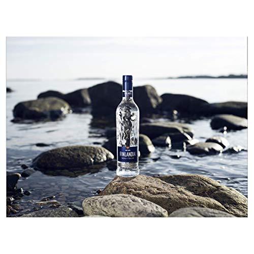 Finlandia Vodka - 40% Vol. (1 x 0.7 l)/Reinheit, purer Geschmack und Qualität auf ganz natürliche Weise. - 3