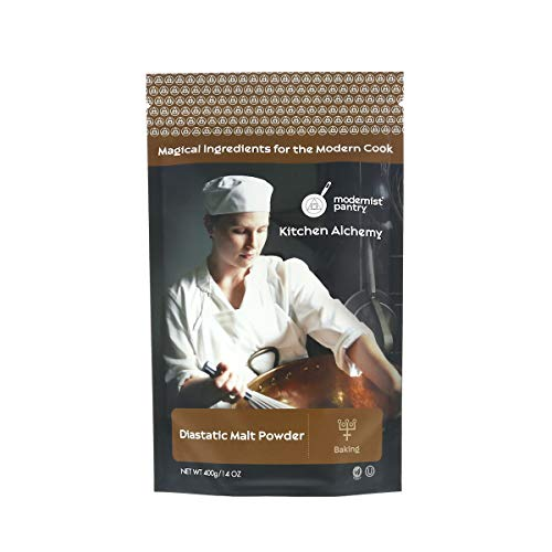 Diastatic Barley Malt Powder ☮ Vegan ✡ OU Kosher Certified - 400g/14oz
