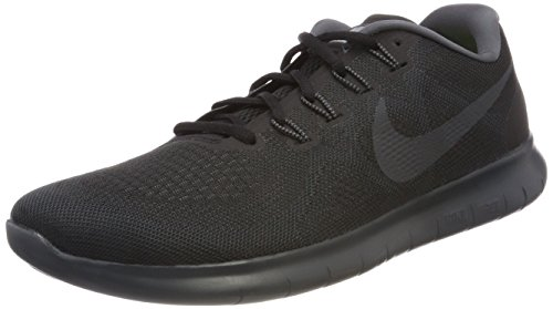 Nike Damen Free RN 2017 Traillaufschuhe, Schwarz (Black/Anthracite/Dark Grey/Cool Grey 003), 36.5 EU