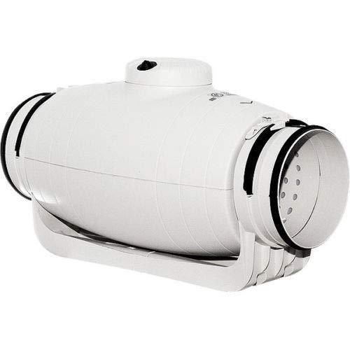 Schallgedämpfter Rohrventilator S&P TD-500/150-160 Silent 580/430m3 Klima Lüfter
