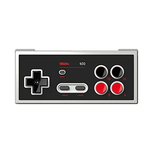 8BitDo N30 Bluetooth Gamepad for Switch Online - Support Turbo and Home [Nintendo Switch Online] [ ]