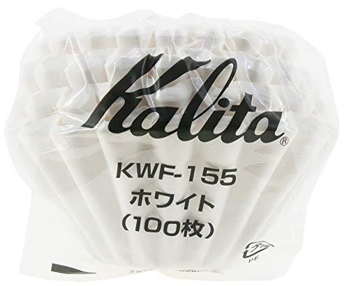 Kalita: Wave Series Wave Filter KWF-155 [1-2 Persons] White, 100 Sheets # 22213