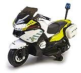FEBER- Moto de policía, Guardia Civil, Infantil, con batería 12 V, con Luces y Sonido (Famosa 800012841)