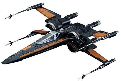 Bandai Star Wars Poe's X-Wing Fighter 1/72 Scale Plastic Model Kit