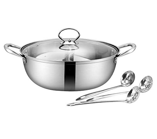 32cm , Shabu shabu pot,4 sets of hot pot cookware