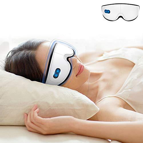 NANANA USB Riscaldata Maschera per Gli Occhi Maschera per Dormire Senza Fili, Maschera per Gli Occhi Asciutta per Dormire, Alleviare...