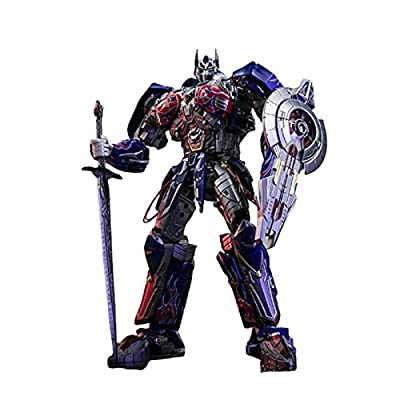 WJYLM Transformers Toys, KO Unique Toy Transformation Battle Damage Optimus Prime Commander Challenger Leader Action Humanoid Robot Transformers Robot Toy.