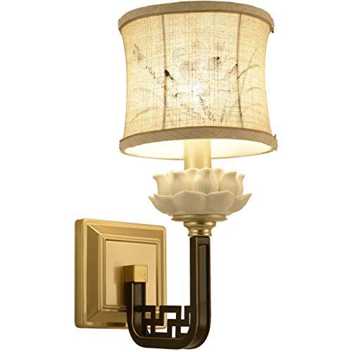 Iluminación de pared Lámpara de Pared Lámpara de Pared Lámpara de Pared Chino Sala de Estar Proporciona una lámpara de Pared para Restaurar Formas Antiguas Lámpara de Pared Estudio Tea