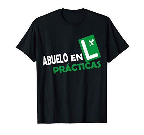Hombre Abuelo en Prácticas Abuelos Primerizos Regalos Futuro Abuelo Camiseta