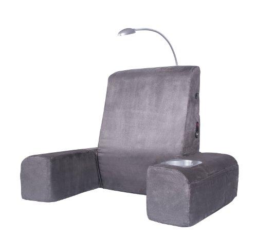 Carepeutic Chaise longue de lit avec masseur confort chauffant, gris, 128,7 g