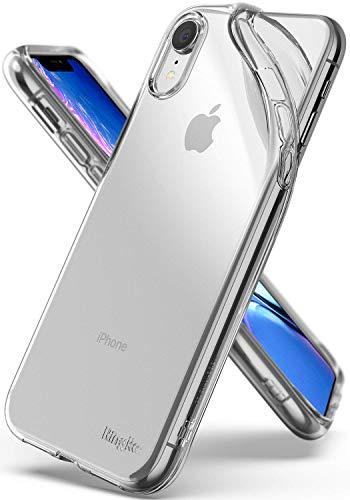 Ringke Air Compatible con Funda iPhone XR 6.1  Ingrávido como el Aire, Ligero Transparente Suave Flexible TPU Cubierta Resistente Arañazos para Apple iPhone XR (2018) - Clear