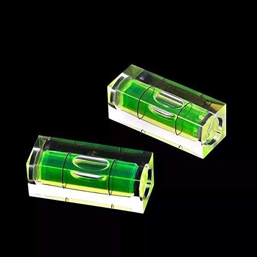 Terrarum 2 Stuks Verwarmd Bed Hot Bed Nivellering Detector Vloeibaar Niveau voor 3D Printer Onderdelen