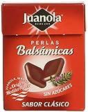 Juanola Perlas Balsámicas, Sabor Clásico, Sin Azucar, 25 GR