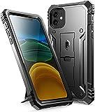 iPhone11 ケース、添付 Apple iPhone 11 フィルム、アイフォン11 カバー 耐衝撃、スタンド付、……