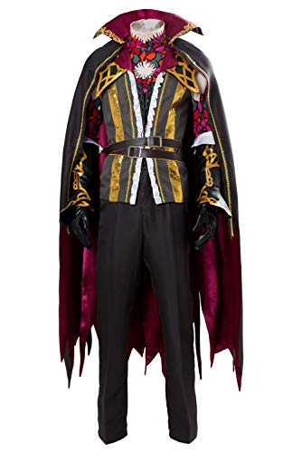 Karnestore Bloodstained: Ritual of The Night Gebel Cosplay Kostüm Herren M