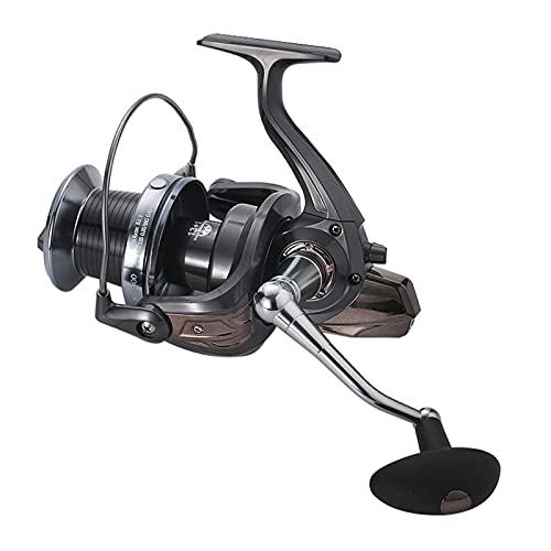 JKCKHA Carrete De Spinning, 13+1BB Acero Inoxidable Blindado, para Agua Salada O Dulce Carrete De Pesca, La Pesca De La Carpa MAX Drag 18Kg/40LB,HQ7000