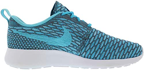 Nike Roshe Run Flyknit Clearwater Bleu 40