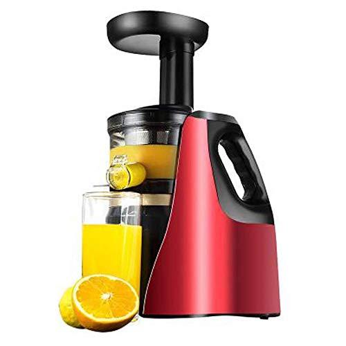 Licuadora Prensado Frío, Licuadoras para Verduras y Frutas con Boca Ancha de 75MM, Extractor de zumos con Función inversa, Slow Juicer Motor Silencioso, Libre de BPA