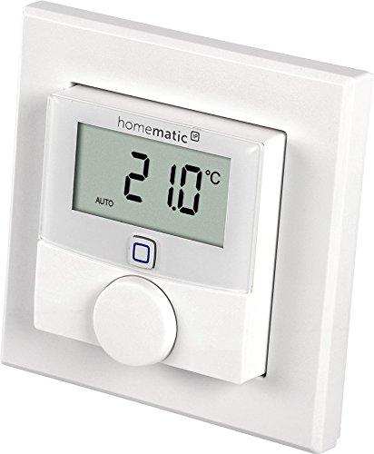 Homematic IP HmIP-WTH-2 termoestato Blanco - Termostato (868,3 MHz, EQ3-AG, Blanco, IP20, 250 m, LR03 AAA)