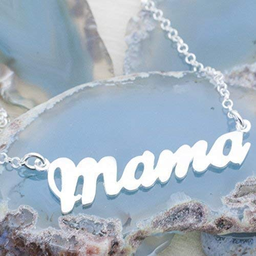 Pulsera Mamá de Plata de Ley 925 - Pulsera Día de la Madre