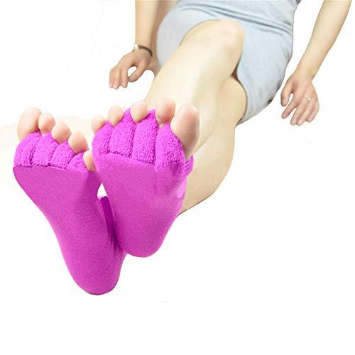 WHYTT Tobilleras de Compresión Incluye Soportes para, calcetín de compresión para Fascitis Plantar, Tobilleras para Esguince Y Mejor Circulación Sanguínea Corrección De Protección Médica,Rojo,2PCS