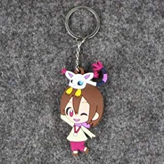 7-8Cm 8Pcs/Lot Cartoon Anime Adventure Pvc Keychain Kids Toys Key Chain Animal Pendant Toy For Children'S Gift Must Haves For Kids 8 Year Old Girl Gifts My Favourite 4T Superhero Unbox Yourself