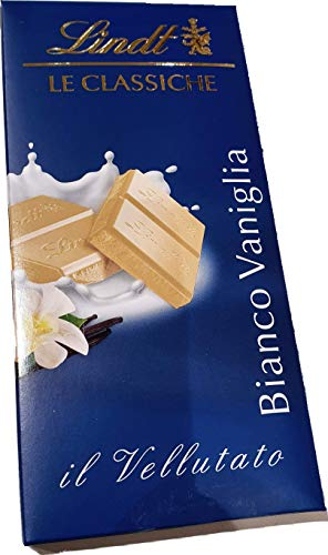 Generico Lindt - Tableta de chocolate blanco, 100 g, paquete de 3 pastillas + 1 tableta de regalo Lindt Excellence Fondant al 85% de 100 g