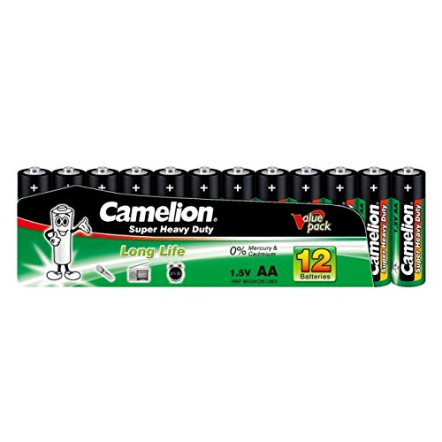 Camelion Batterie Super Heavy Duty R6 / Mignon/AA (10 x 12er Shrink), Alkaline, 1,5V